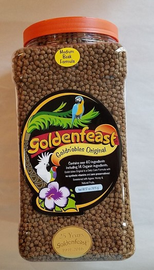 Goldenfeast Goldn'obles  Medium Beak, 57oz