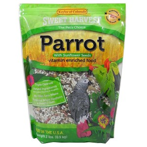 Kaylor Sweet Harvest Parrot With Sunflower, 4lb