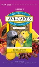 Avi-Cakes - Fruit Delight for Parrots - 8oz.