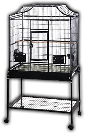 "32"" x 21"" "" Elegant Flight Cage"