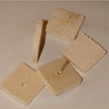 Wood Wafers, Natural (Thin)