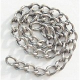 Stainless Steel Chain, 2.0mm (per foot)