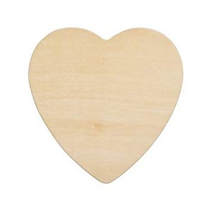 Wood Heart, Large  (3